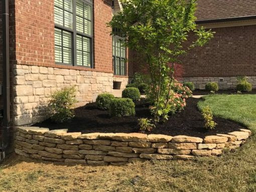 front yard hardscaping