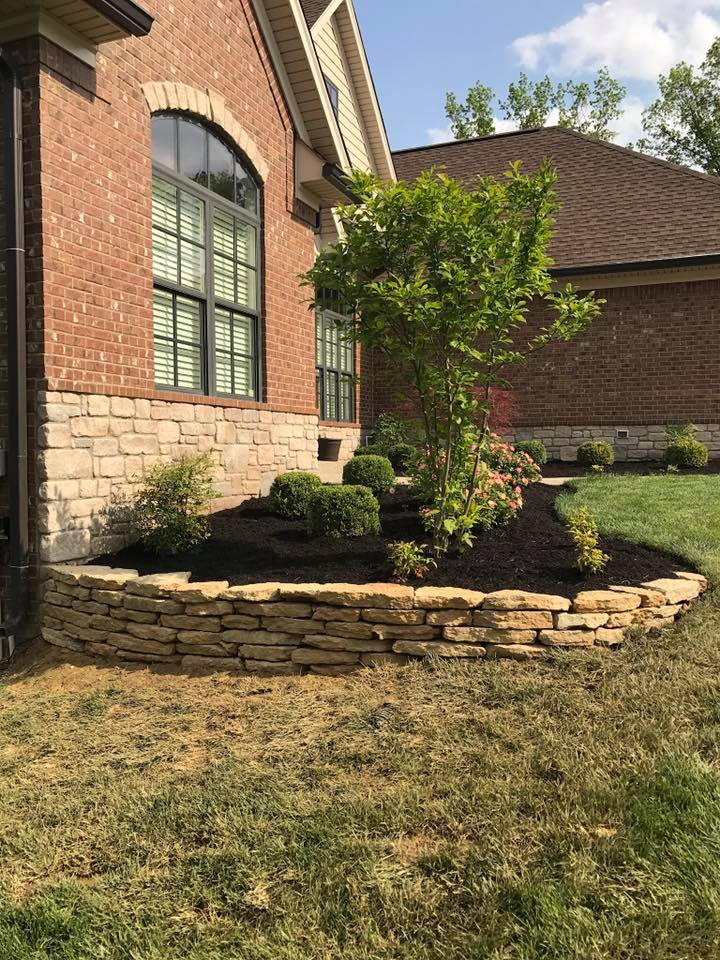 Dry Stack Retaining Wall Louisville, KY